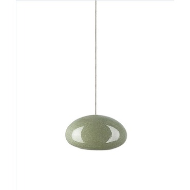 Kable Lite River Rock Pendant Oblong Oval