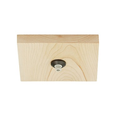 FreeJack LED 4 Inch Square Flush Wood Canopy