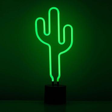 Cactus Neon Desk Lamp