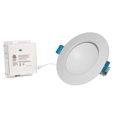 Back Lit 4IN RD Color Changing Panel Downlight Trim
