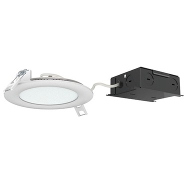 Ultra Thin 4IN RD Color Changing Panel Downlight Trim