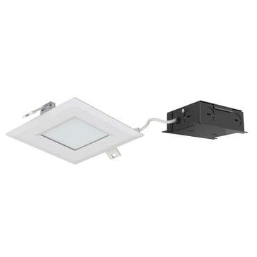 Ultra Thin 4IN SQ Color Changing Panel Downlight Trim