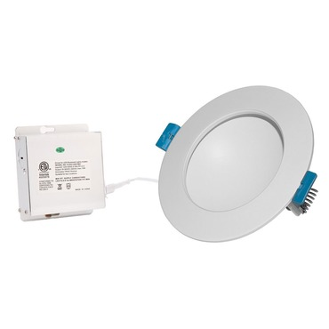 Back Lit 6IN RD Color Changing Panel Downlight Trim