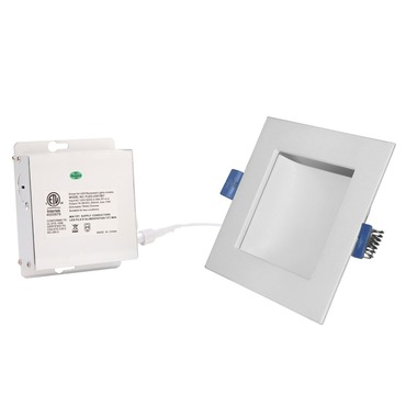 Back Lit 6IN SQ Color Changing Panel Downlight Trim
