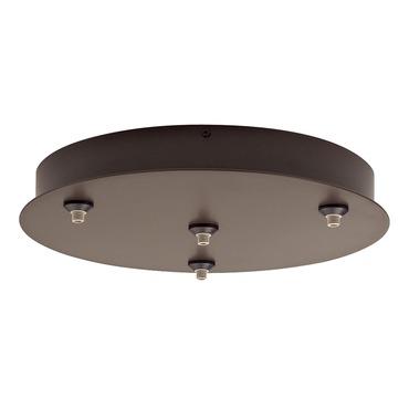 FreeJack LED 4 Port Round Canopy