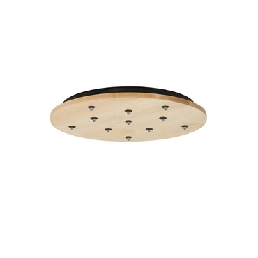 Freejack 11-Port Round 12V LED Canopy by Tech Lighting | 700FJRD11WS-LED