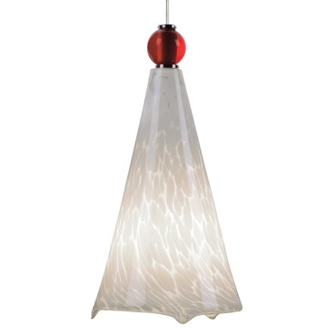 Kable Light Mini Ovation Pendant with Ball Detail