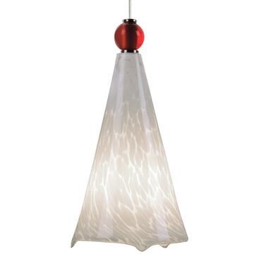 Kable Light LED Mini Ovation Pendant with Ball Detail
