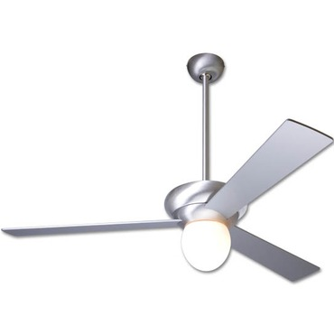 Altus Ceiling Fan With Large Light by Modern Fan Co. | ALT-BA-36-AL-250-NC