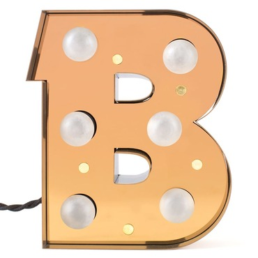 Caractere LED Alphabet Lamp