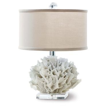 Ribbon Coral Table Lamp