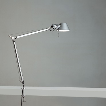 Tolomeo Classic LED My White Light Table Lamp with Clamp