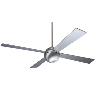 Ball 52 Inch Ceiling Fan No Light/Control by Modern Fan Co. | FM-BAL-BA-52-AL-NL-NC