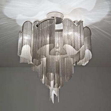 Stream Ceiling Semi-Flush Light