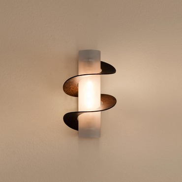 Solune Double Spiral Wall Sconce