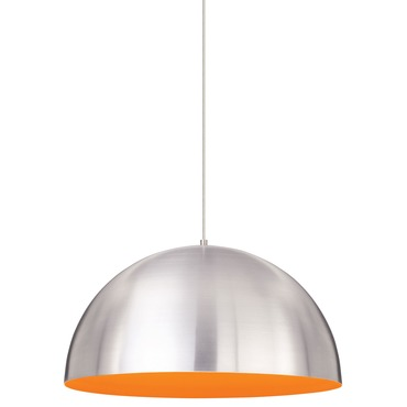 Powell Street Orange Interior Pendant Light