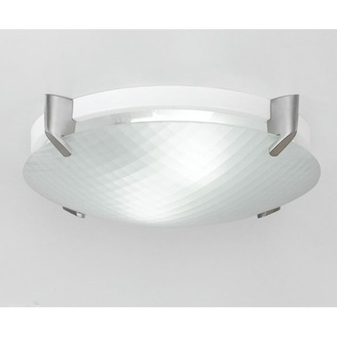Facet Clip 2X26W CFL Ceiling/Wall