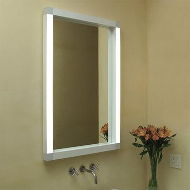 Rezek 28 X 28 High Output Fluorescent Wall Mirror