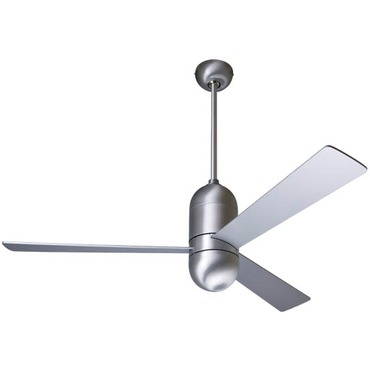 Cirrus Fan No Light by Modern Fan Co. | CIR-BA-42-AL-NL-NC