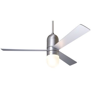 Cirrus Ceiling Fan with Light by Modern Fan Co. | CIR-BA-50-AL-352-003