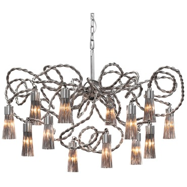 Sultans of Swing Round Chandelier