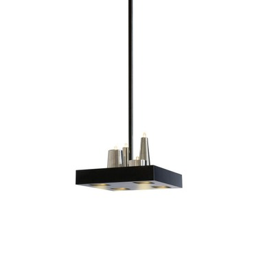 Table D Amis Square Hanging Lamp by Brand Van Egmond | TABS35BLMU