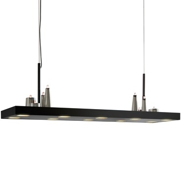 Table D Amis Long Hanging Lamp by Brand Van Egmond | TABL90BLMU