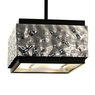 Crushed Cover Hanging Lamp Square