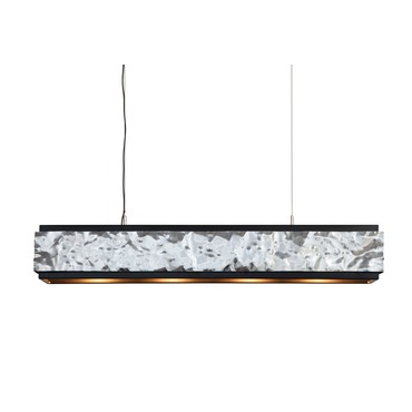 Crushed Cover Hanging Lamp Long