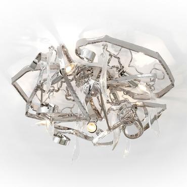 Delphinium Ceiling Lamp Round by Brand Van Egmond | DP60NU