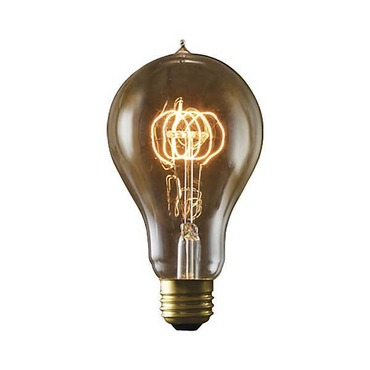Nostalgic A23 E26 Antique Loop Bulb 40W 120V by Bulbrite | 134040