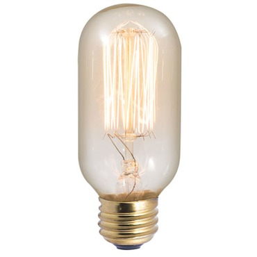 Nostalgic T14 E26 Antique Thread Bulb 40W 120V