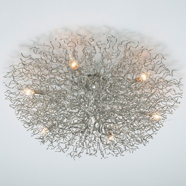 Hollywood Round Ceiling Light