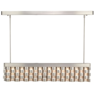 Metal Weave LED Linear Pendant by Hart Lighting | HL-1082