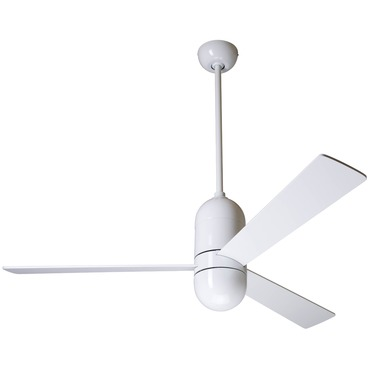 Cirrus Ceiling Fan No Light by Modern Fan Co. | CIR-GW-50-WH-NL-003