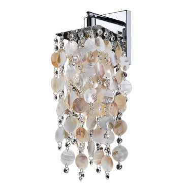 Cityscape Wall Sconce by Glow Lighting | 598SW1LSP-3C