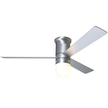 Cirrus Hugger Fan with Light