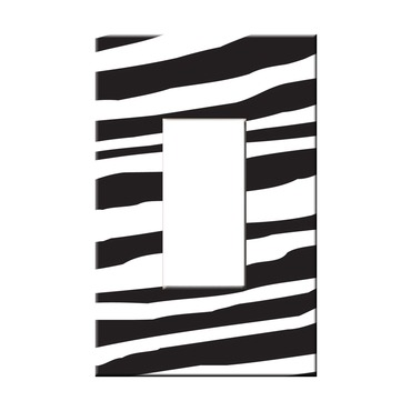 Zebra Stripes Single Rocker