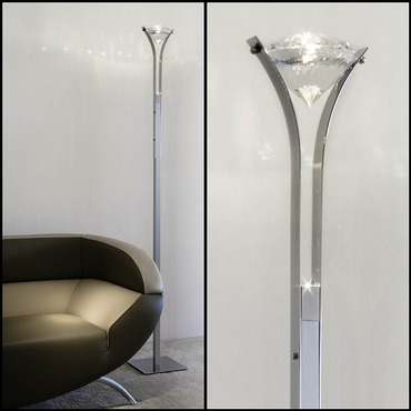 Elements Of Love LED Floor Lamp by Ilfari | ILF6289LED.02
