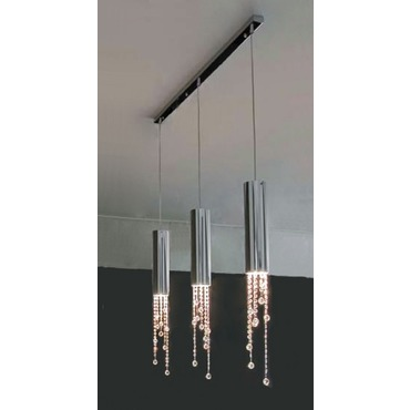 Sexy Crystals Linear Suspension 6319/55 by Ilfari | ILF6319/55-3/40s.02
