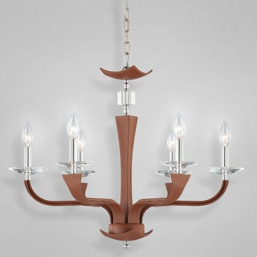 Pella 6 Light Chandelier by Eurofase | 22806-024