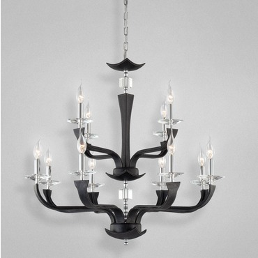 Pella 12 Light Chandelier by Eurofase | 22807-038