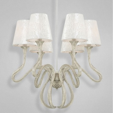 Prima 6 Light Chandelier