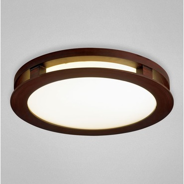 Zelkova Small Round Ceiling Flush Mount
