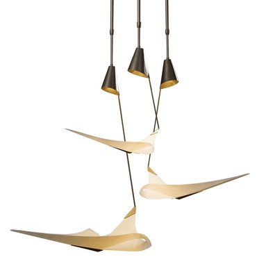 Icarus Adjustable Pendant by Hubbardton Forge | 133360-08-783