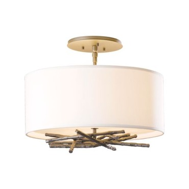 Brindille Semi Ceiling Flush