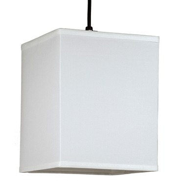 Rex Square Suspension by Lights Up | RS-9210BN-WHT