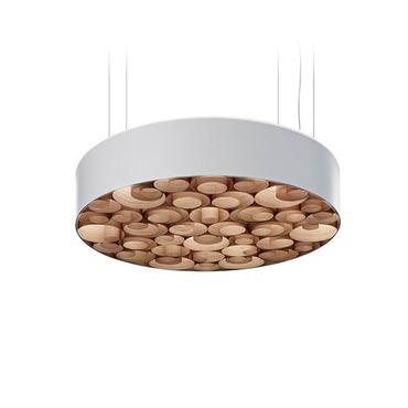 Spiro Fluorescent Pendant by LZF | SPRO SM W DIM UL 21