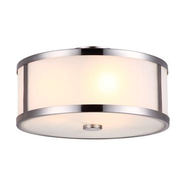 Uptown Semi Flush Ceiling Light by DVI Lighting | DVP1112CH-OP