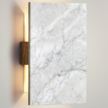 Tersus Marble Wall Sconce